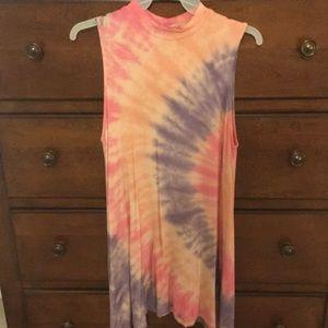 Altars State Tie Dye Swing Dress